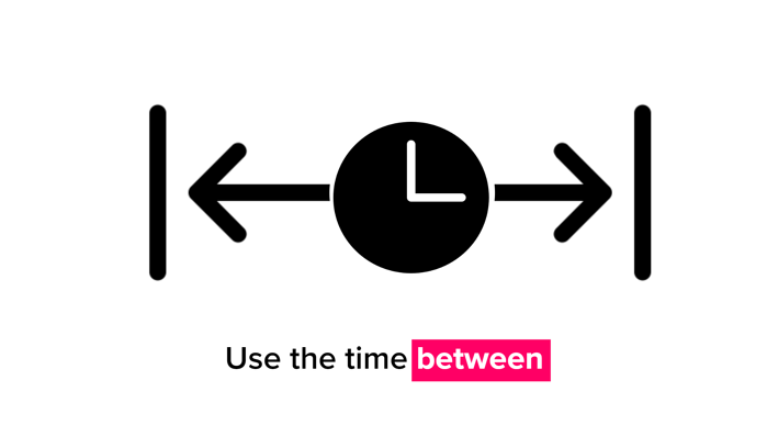 use time between