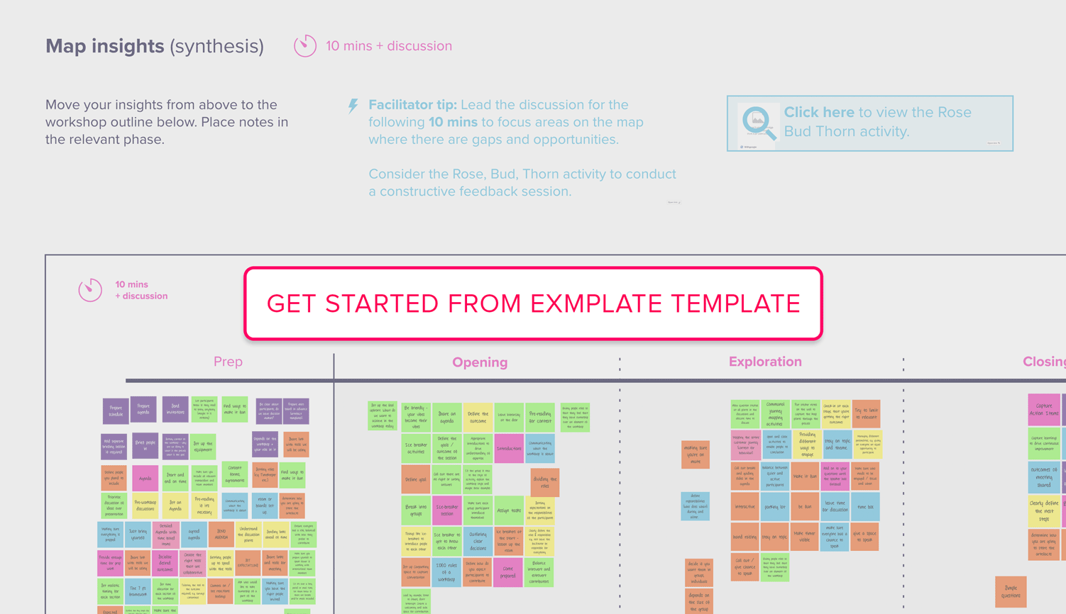 Get Started from Example Template
