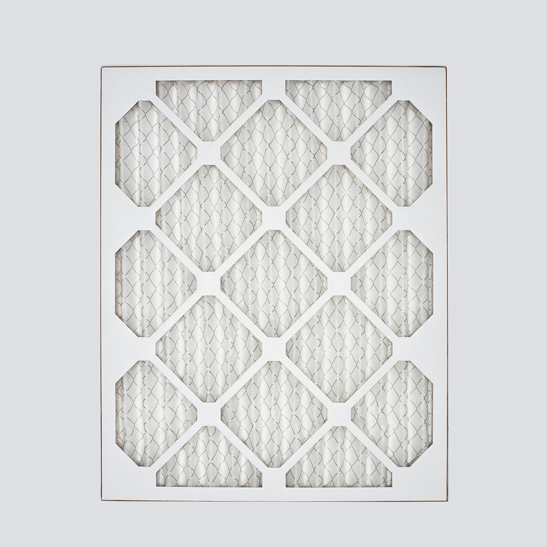 15x20x1 second nature air filter top view