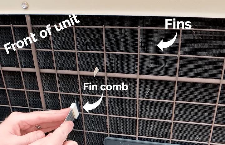 fin combs are useful and easy to use