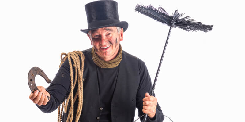 A professional chimney sweep can help make your fireplace more efficient and safer
