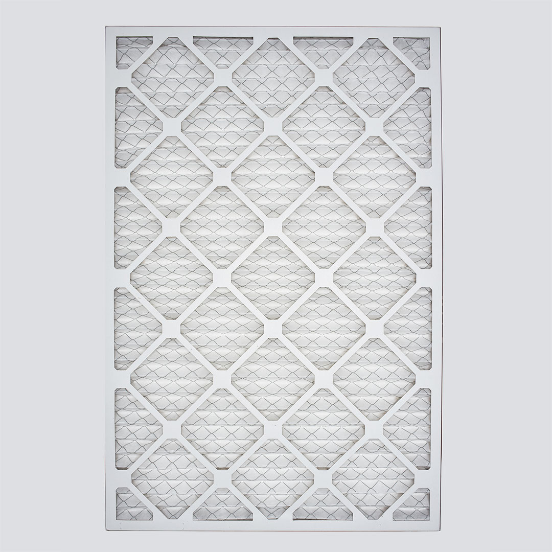 20x30x1 second nature air filter top view
