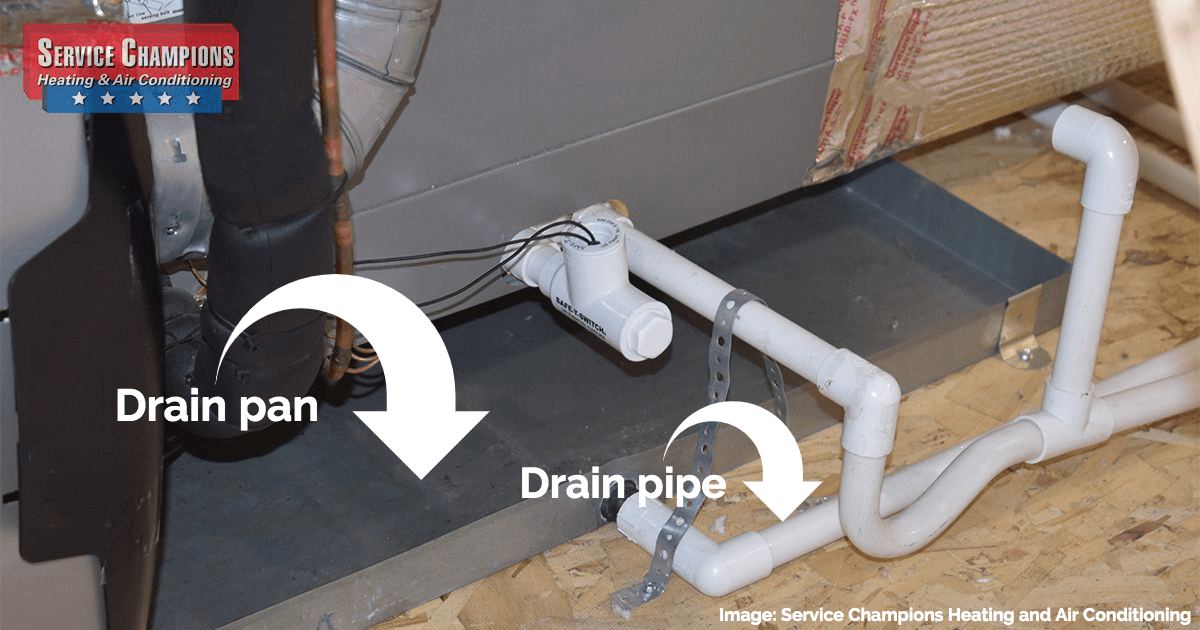a dirty drain pipe can cause worsening efficiency