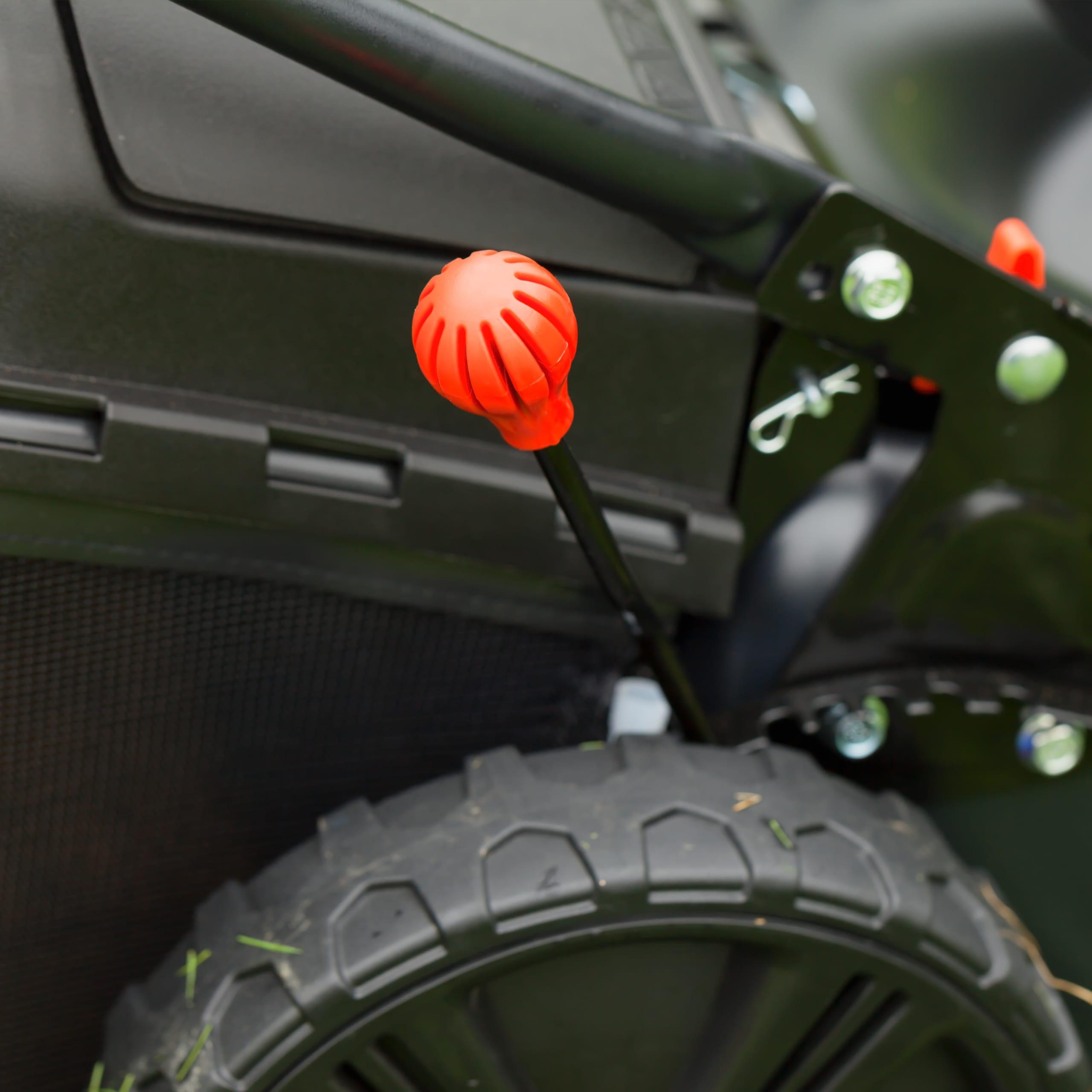 mower blade height adjustment lever