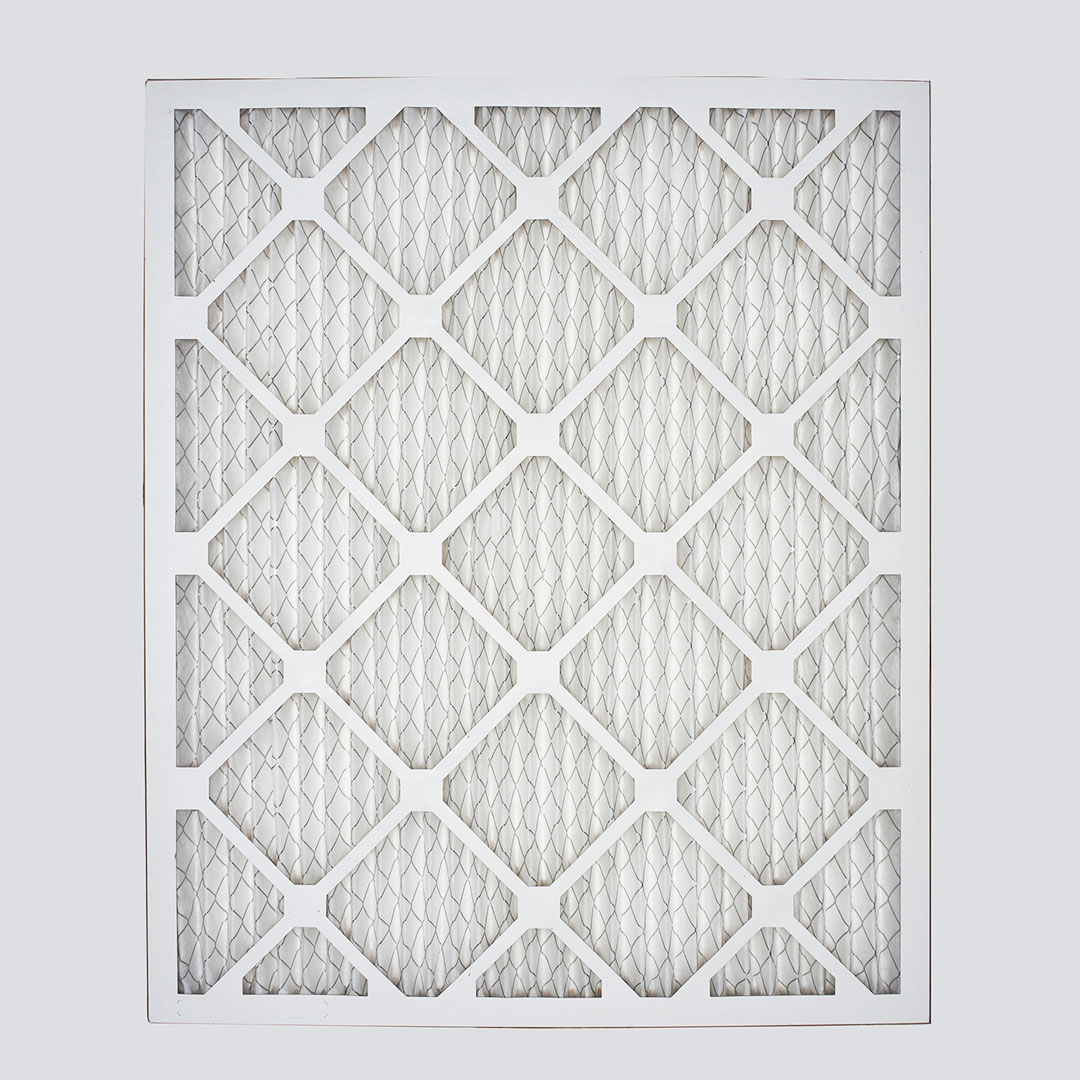 16x20x1 second nature air filter top view