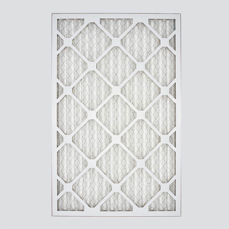 14x25x1 second nature air filter top view
