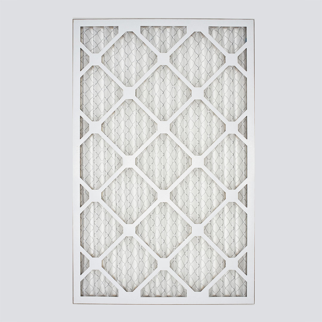16x25x1 second nature air filter top view