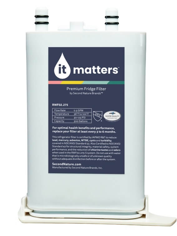 Electrolux compatible it matters water filter