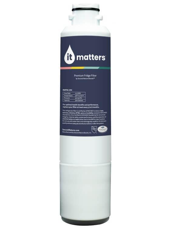 samsung DA2900020B refrigerator it matters water filter replacement