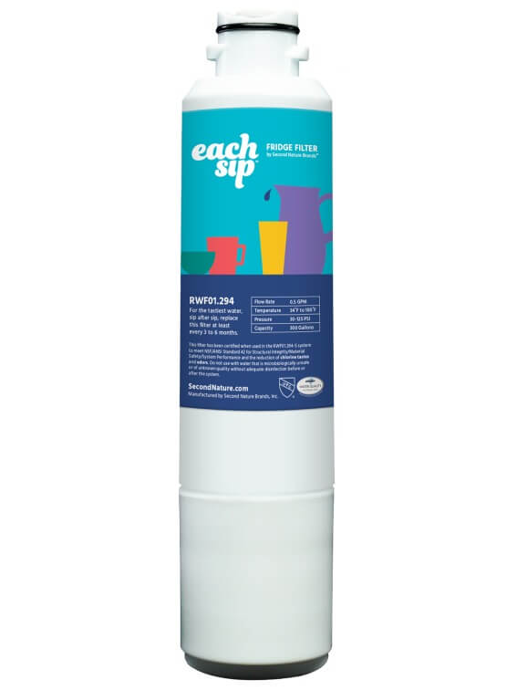 samsung DA2900020B refrigerator each sip water filter replacement