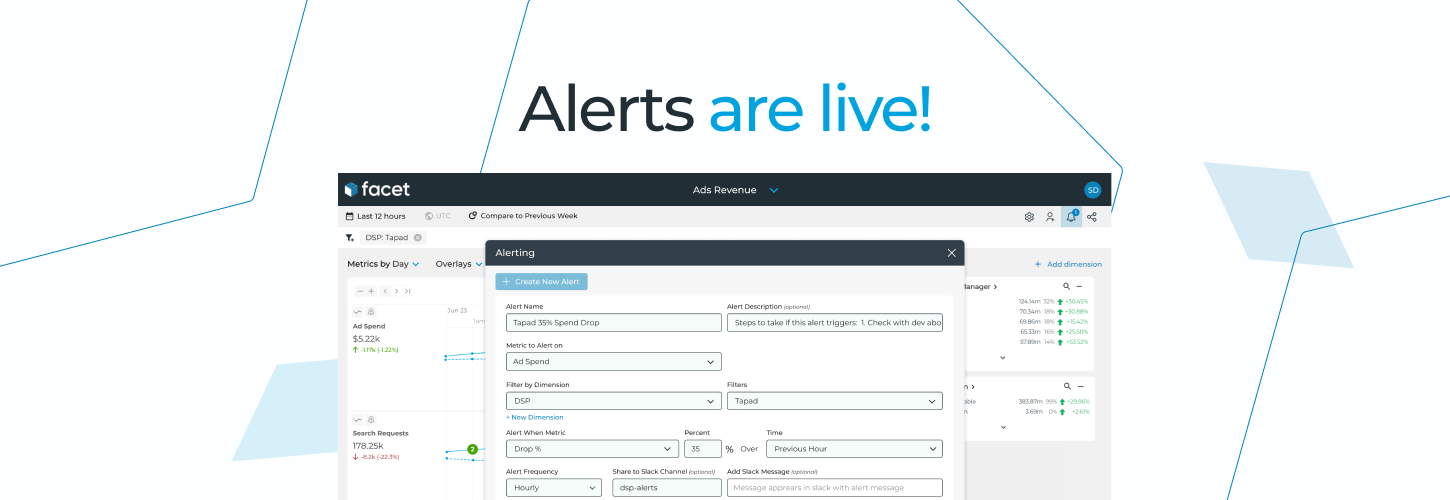 Alerts are Live! Proactively Monitor Your Key Business Metrics in Real-Time