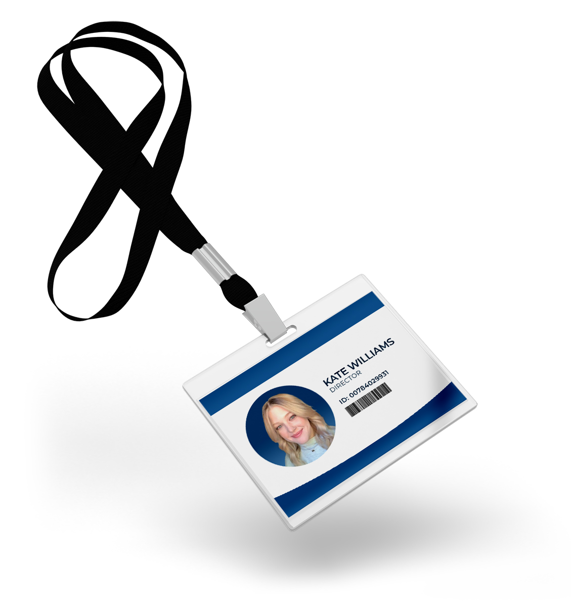 Virtual Headshot used in ID badge