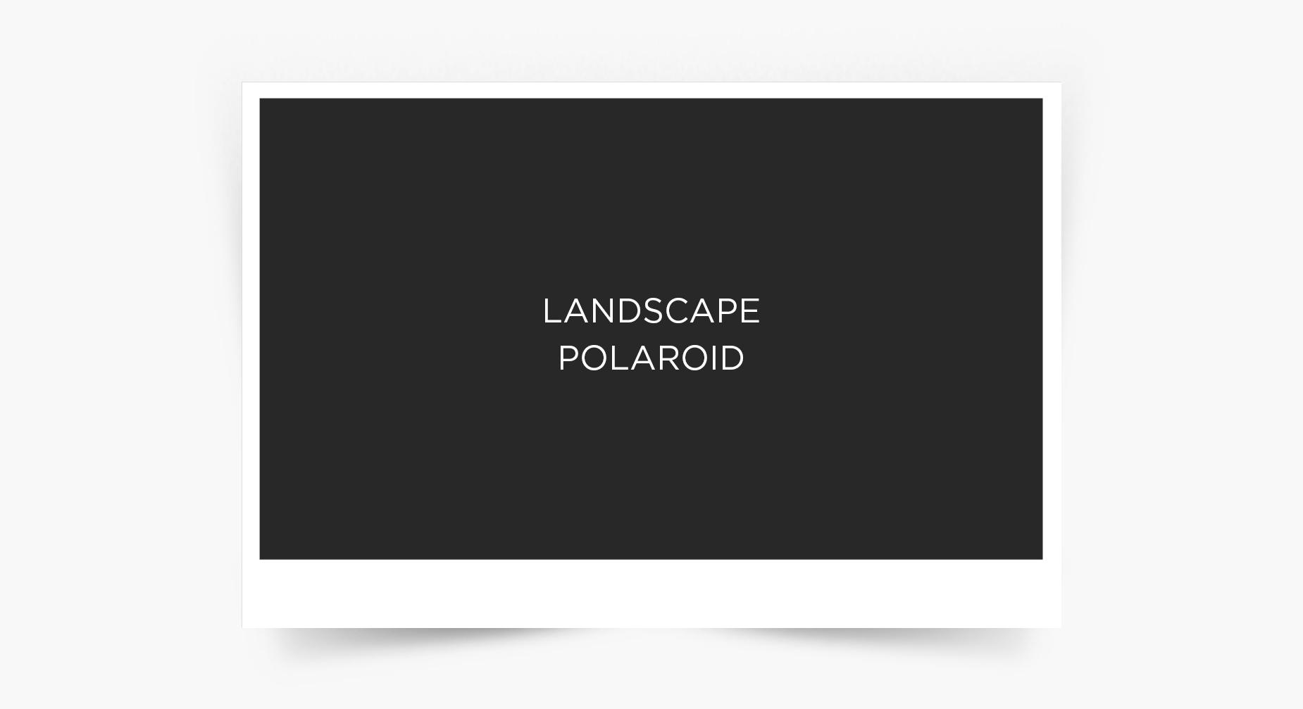 Landscape Polaroid