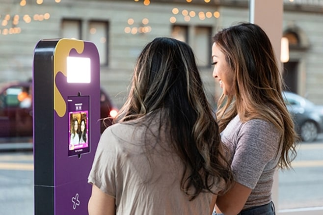 Snap selfies with your Selfie Station