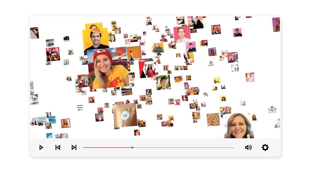 Virtual Mosaic Video