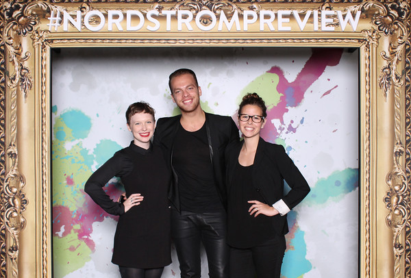 Nordstrom frame photo booth