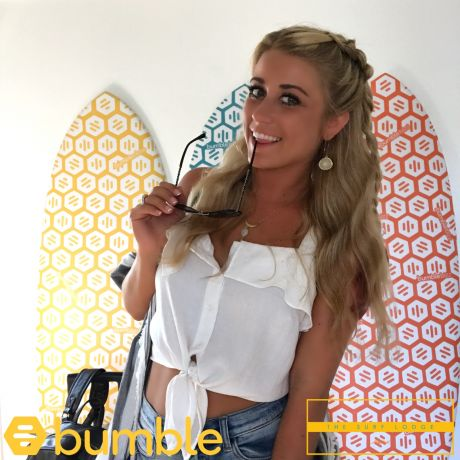 Bumble and The Surf Lodge Selfie Stand Photo Booth Experience