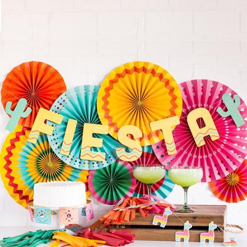 Fiesta banner for Cinco de Mayo party