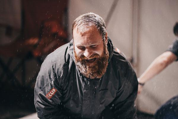 Beard photo booth