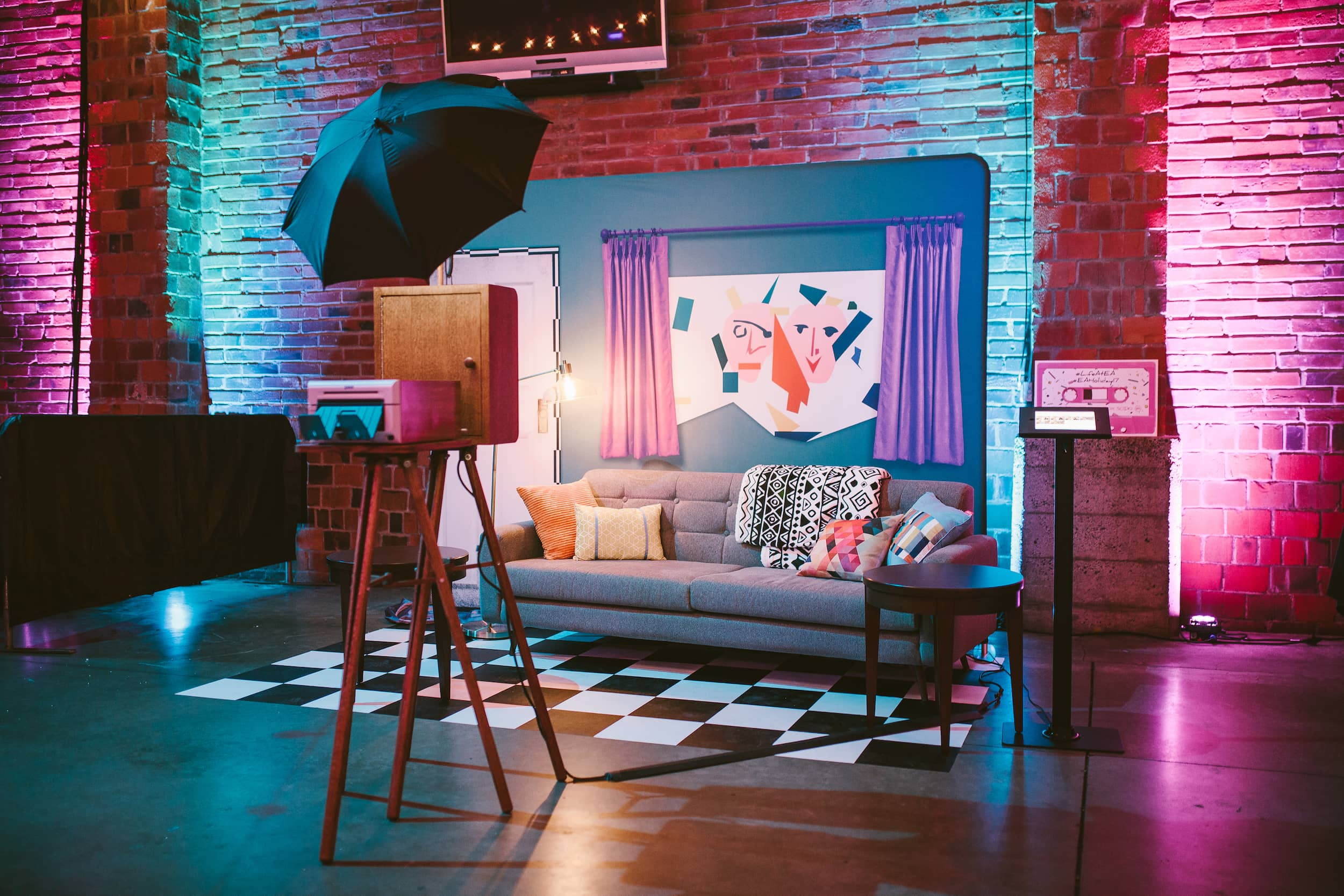 Pretty in Pink Photo Booth Set
