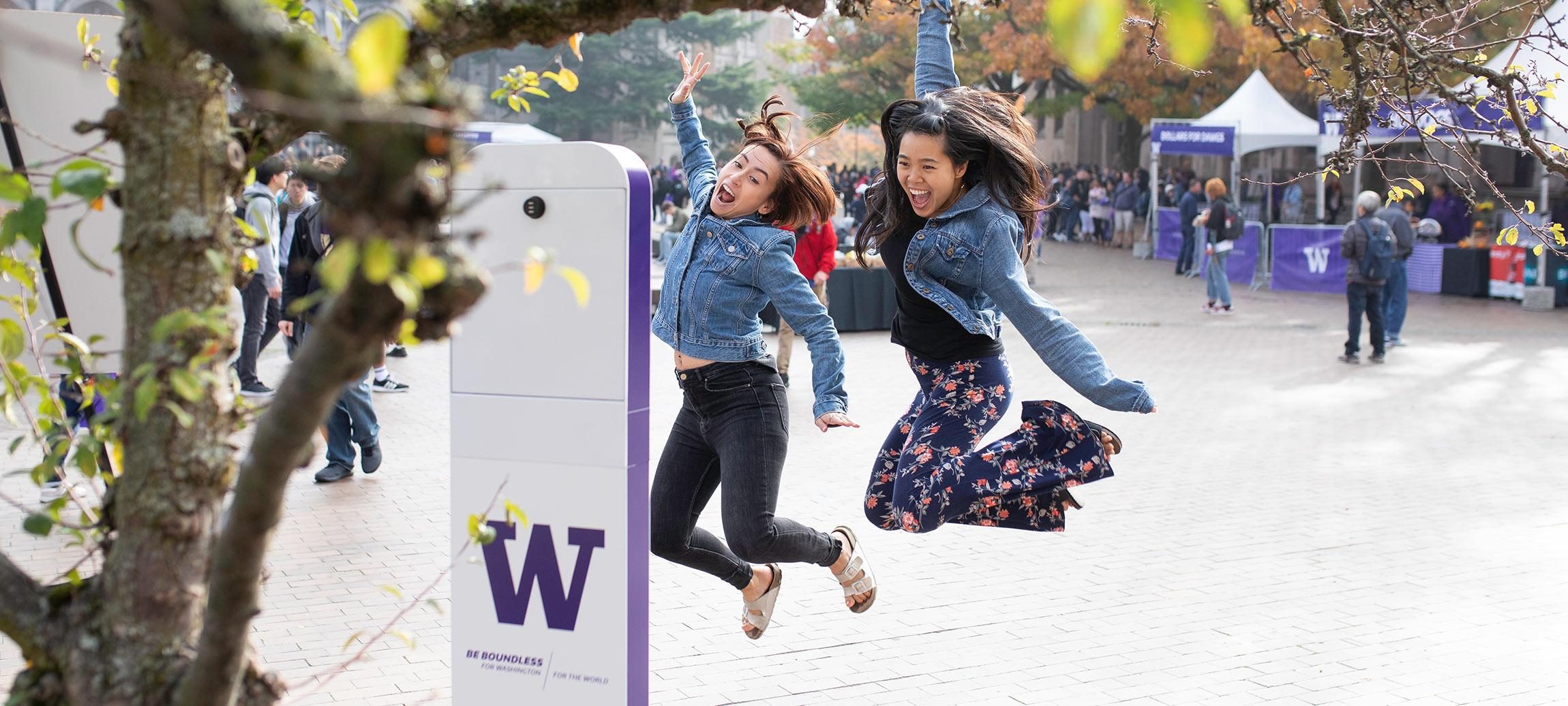 University Selfie Stand
