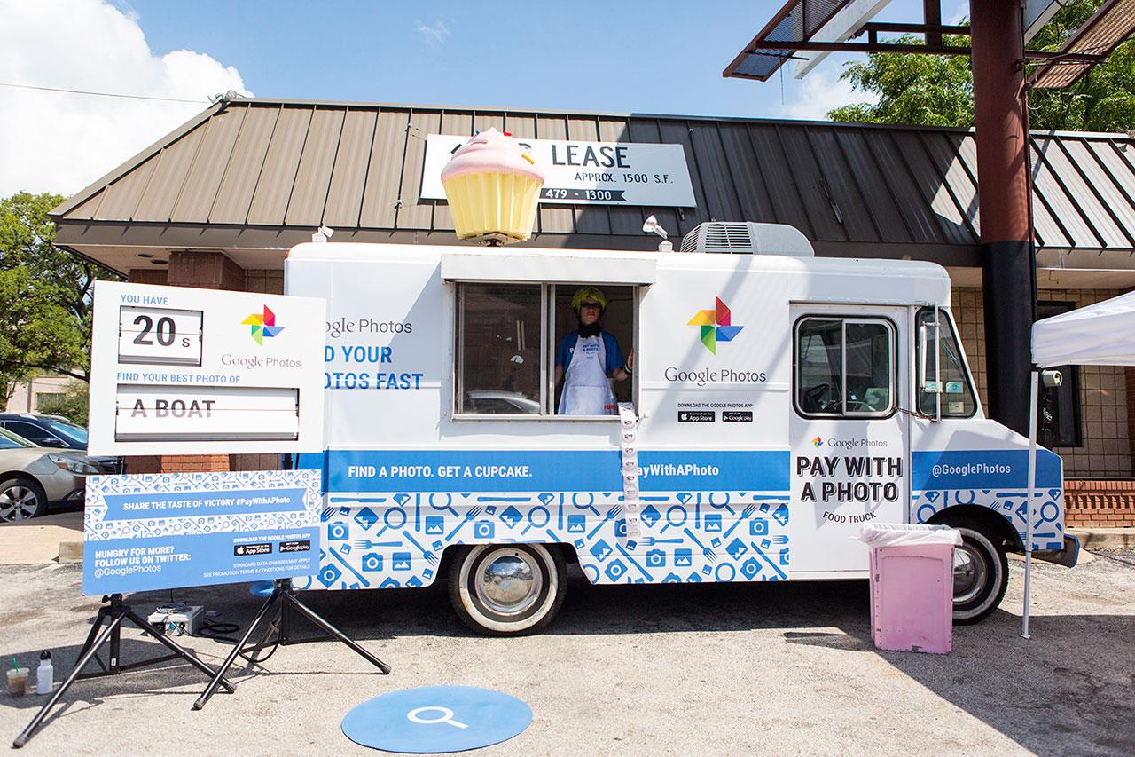 Google Food Truck