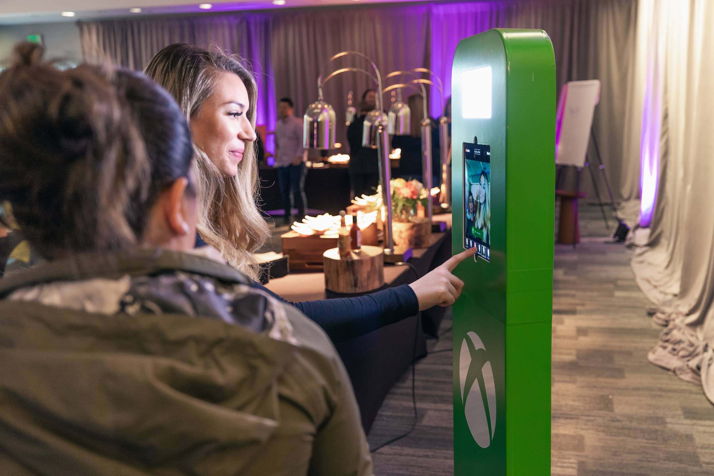 XBox Selfie Stand Full Wrap photo booth experience