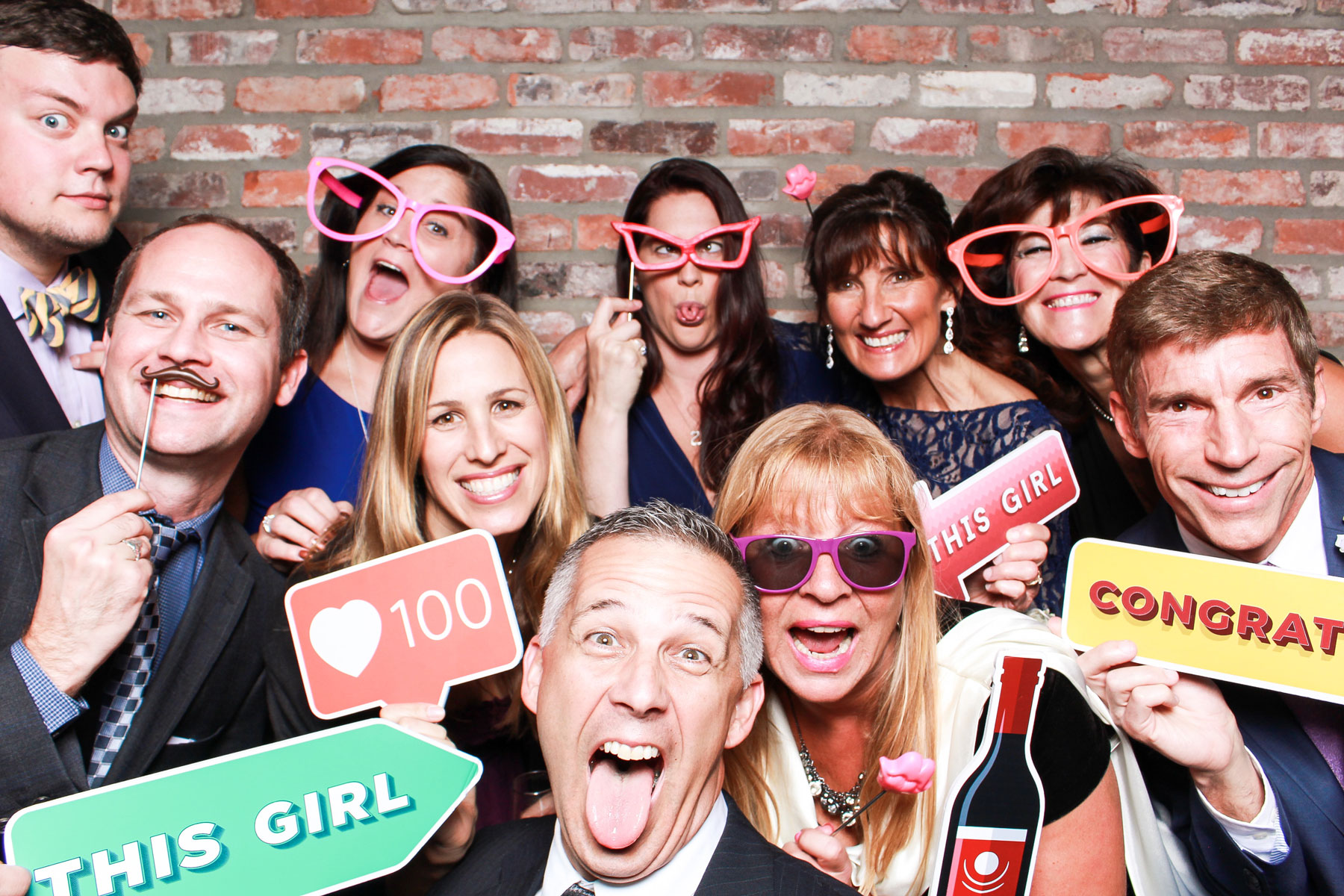 Wedding photo booth experience