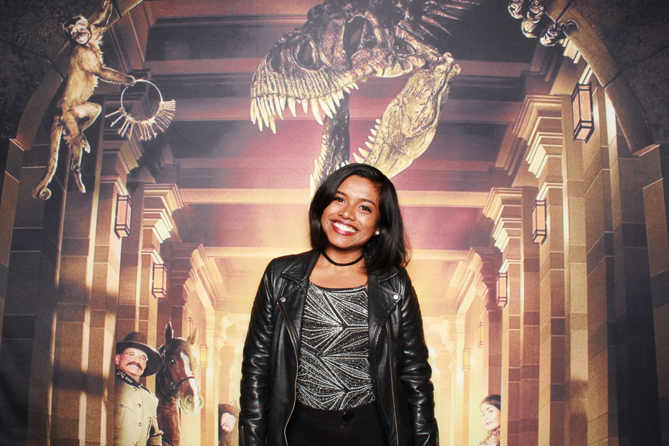 Night at the Museum backdrop