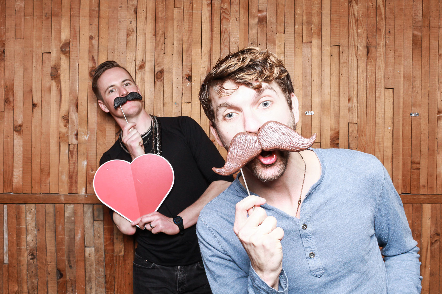 mustache photo booth prop