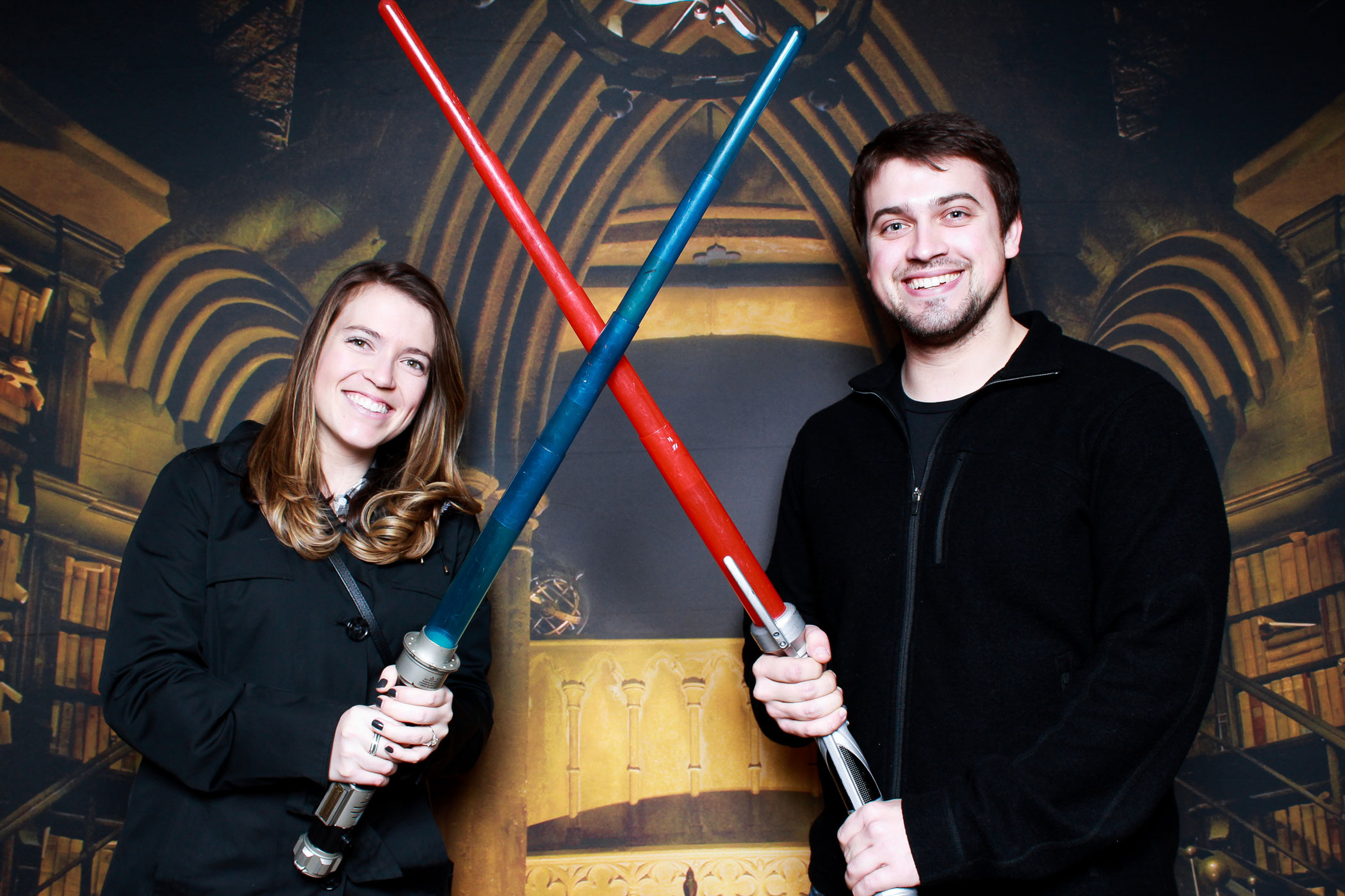 Star wars lightsabers photo booth props