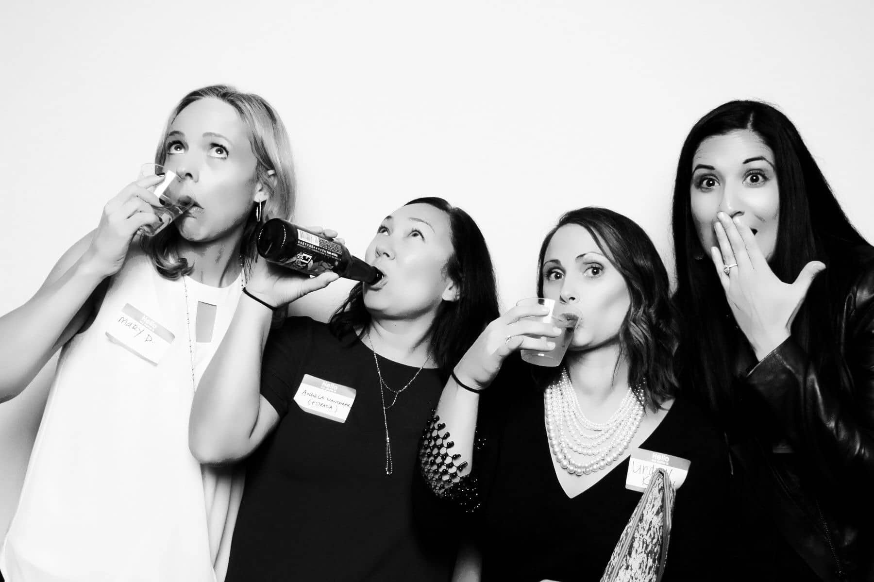 Reunion photo booth experience