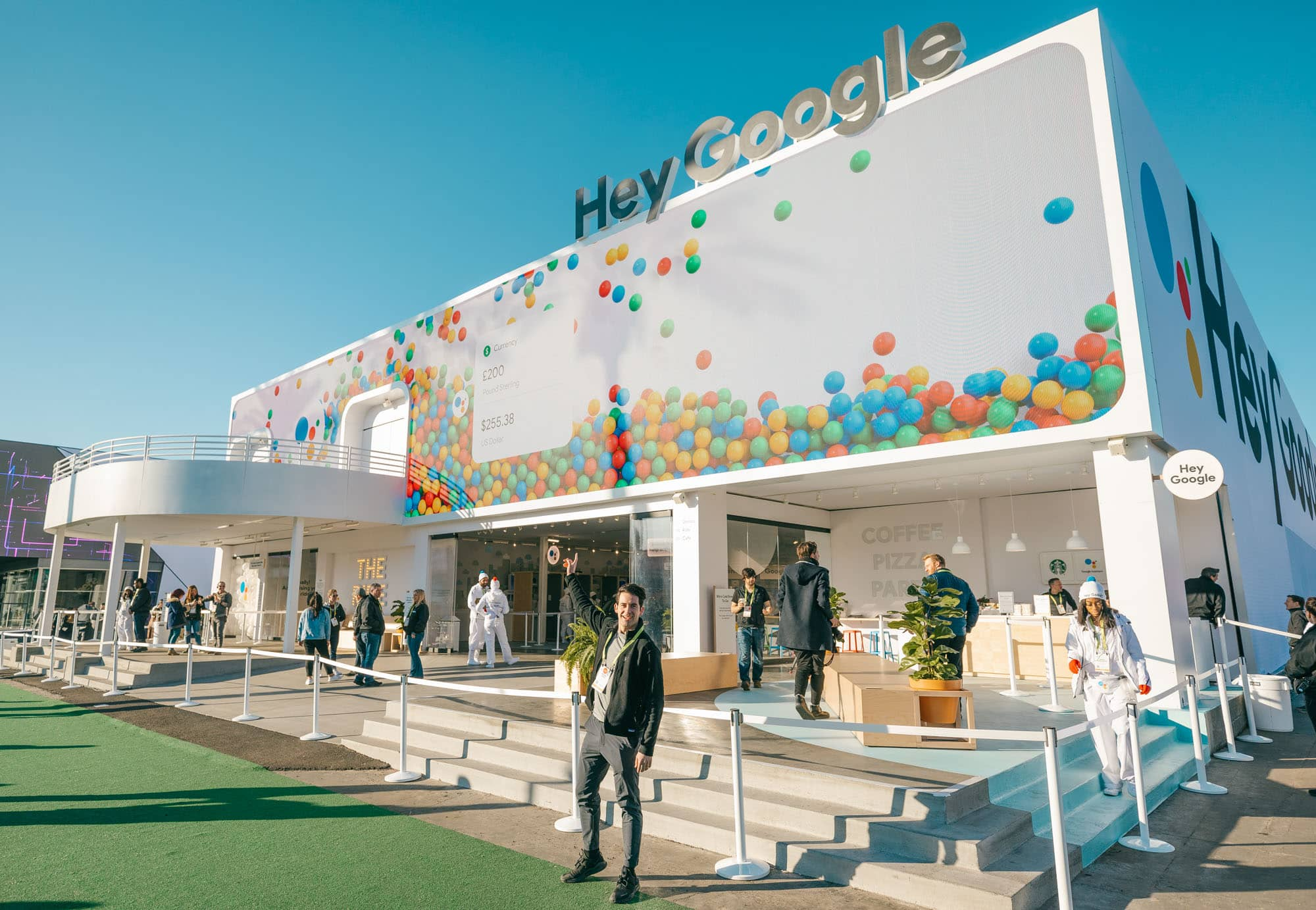 CES Google Las Vegas photo booth experience