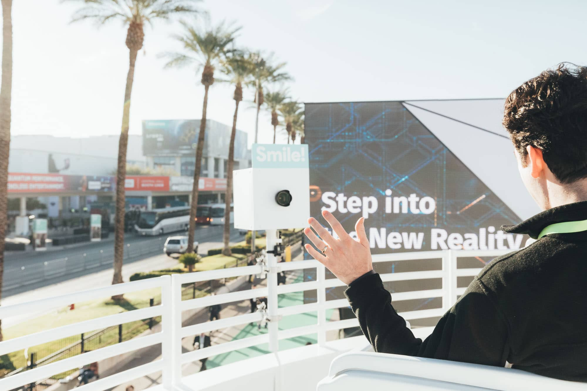 CES Roller Coaster Experience