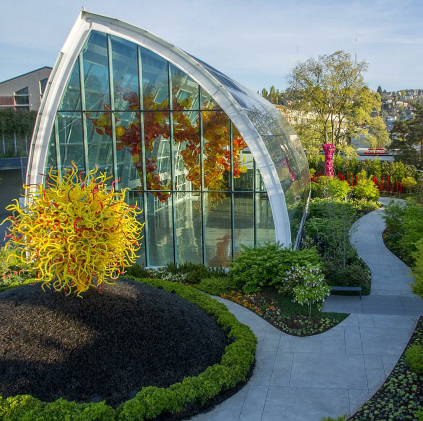 Chihuly garden photo