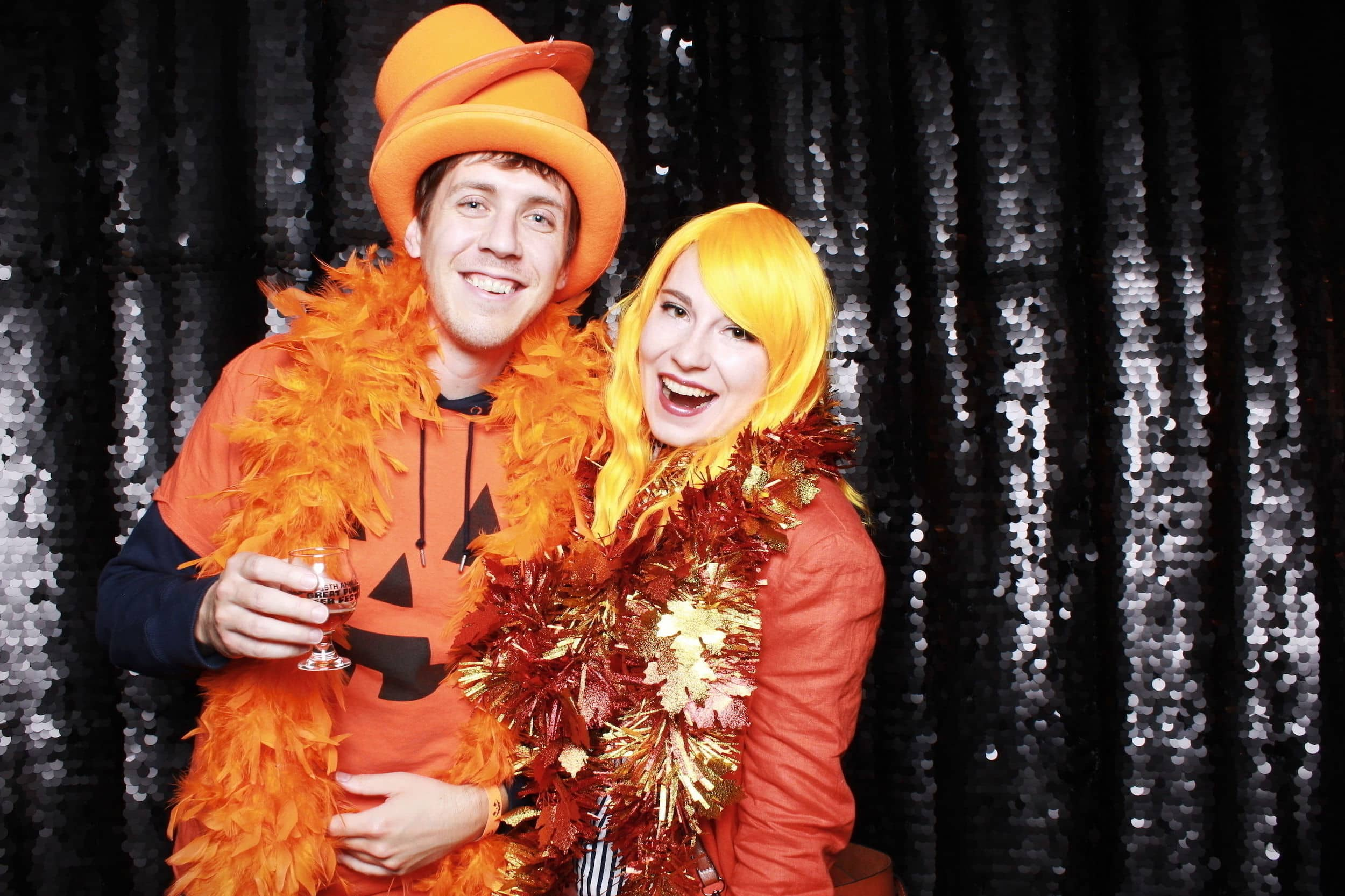 Halloween photo booth experience