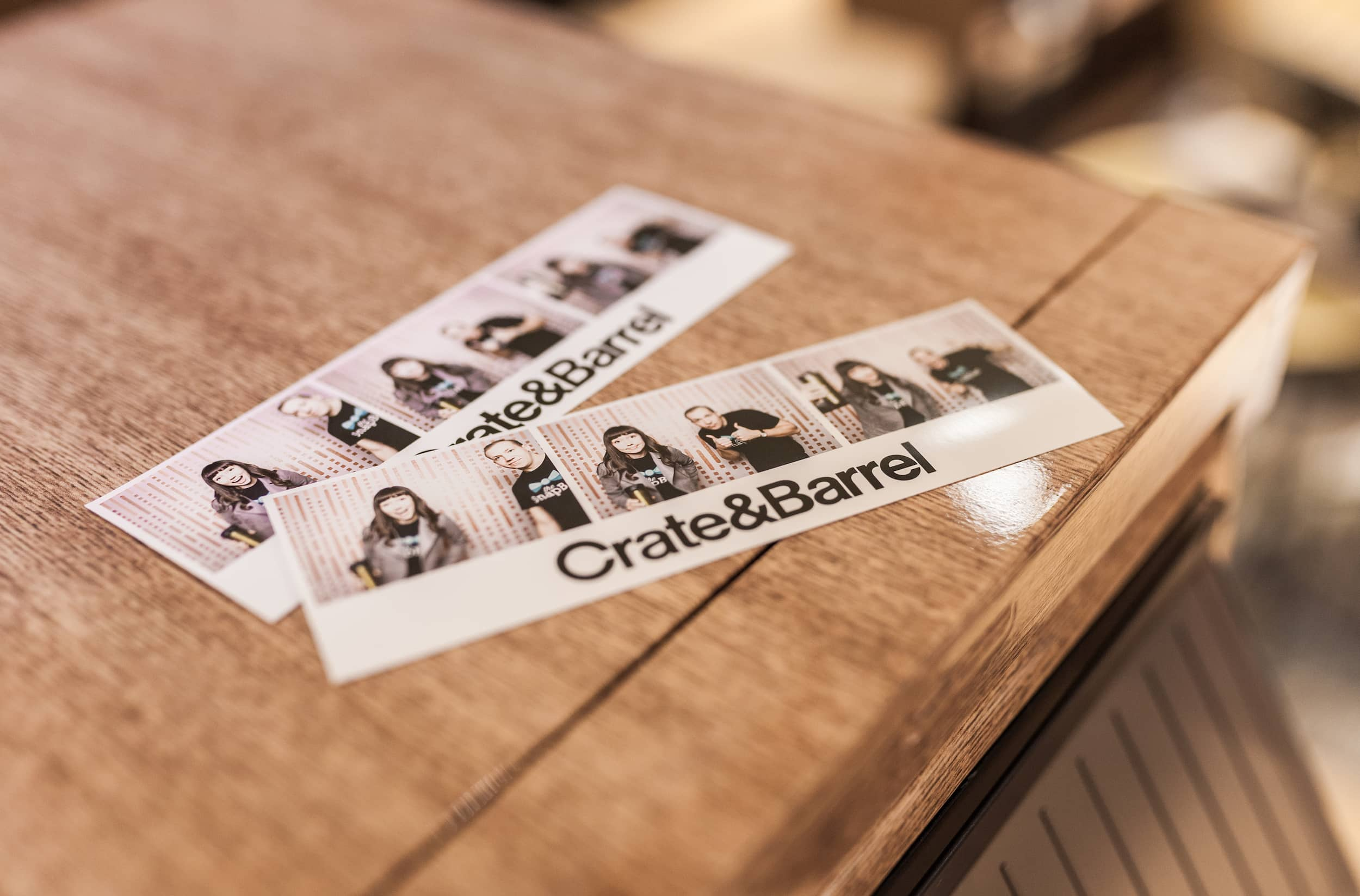 Branding your photo booth prints