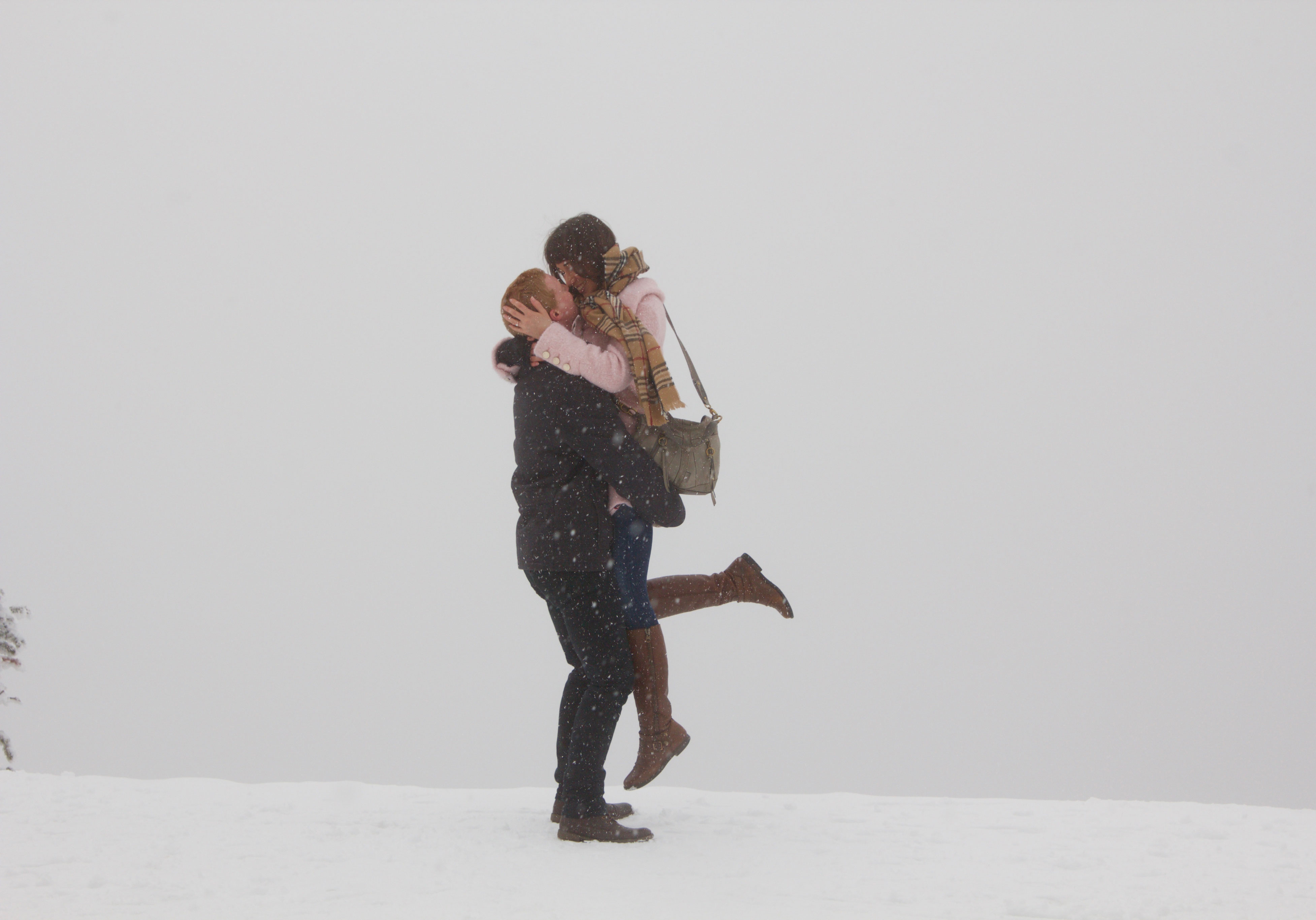 Snow proposal pictures