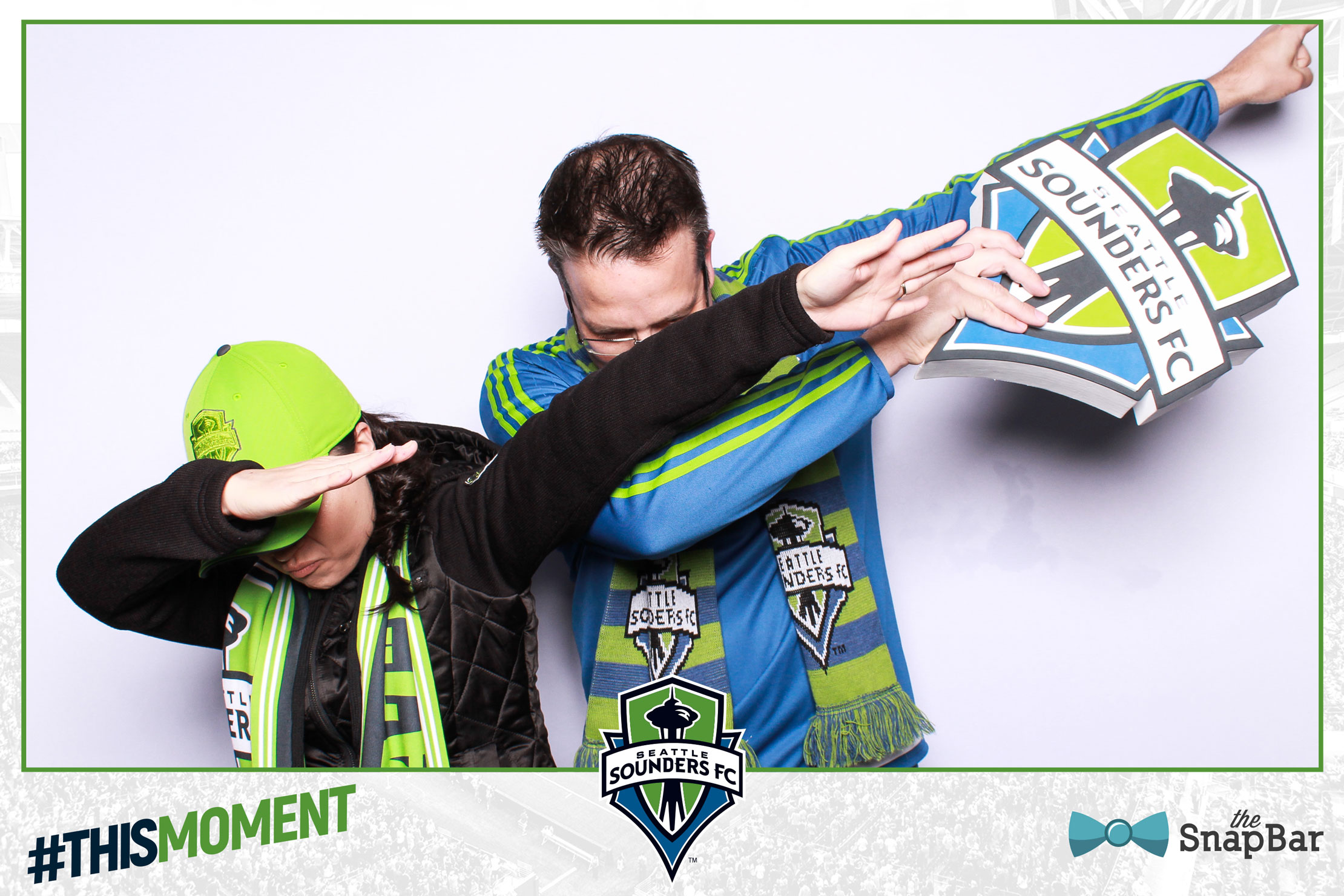 #thismoment Sounders Photo Booth