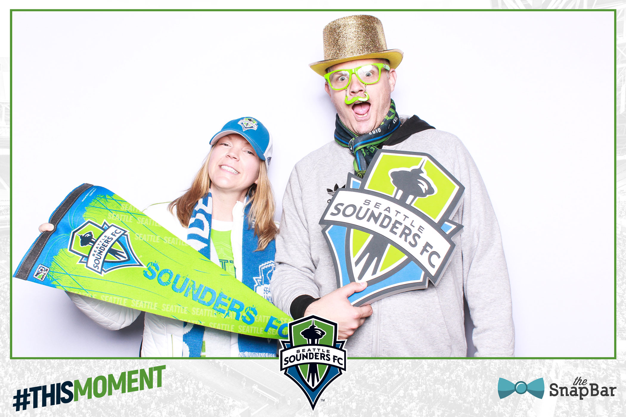 Sounders FC Photo Booth