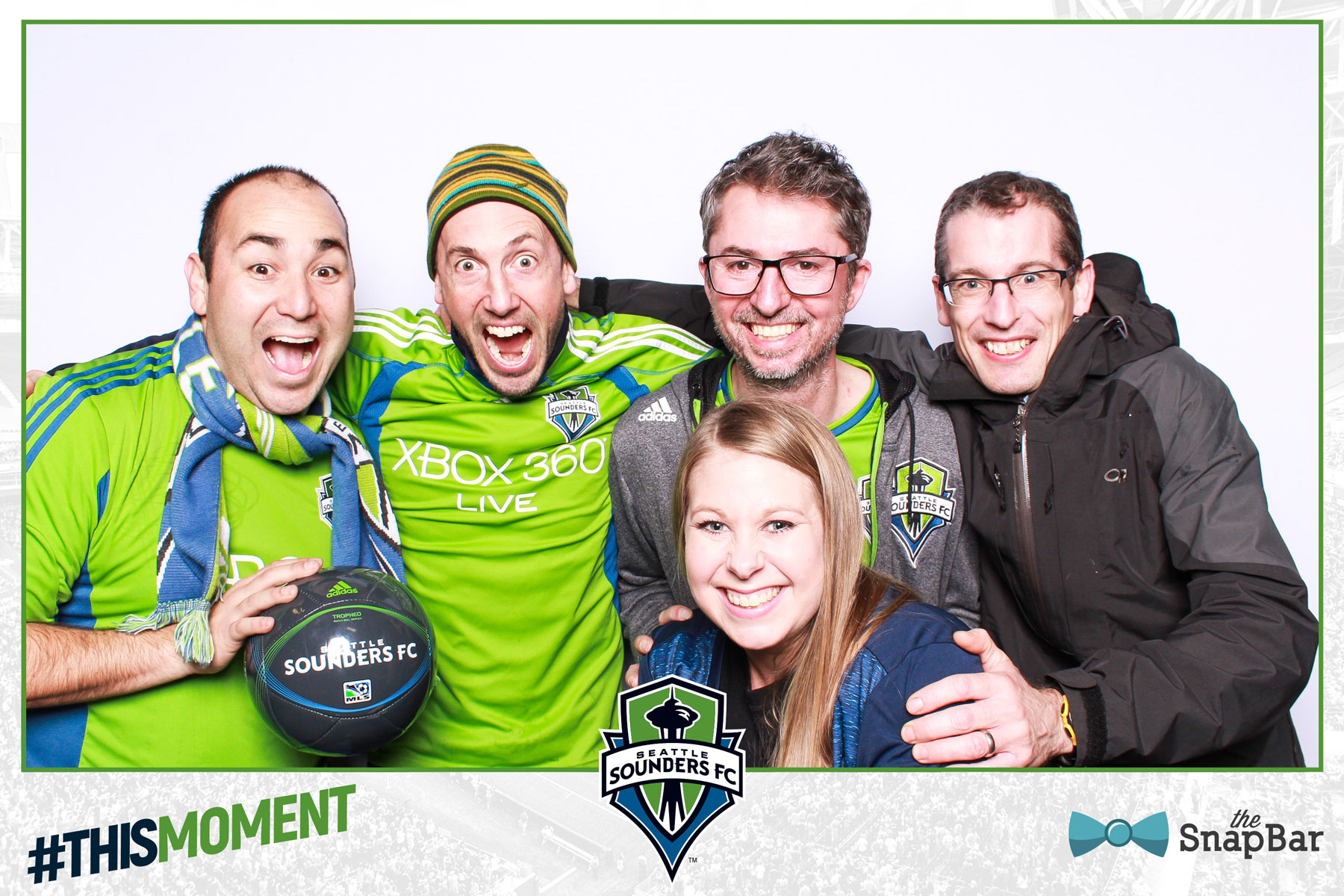 Seattle Sounders FC Champions Photo Booth