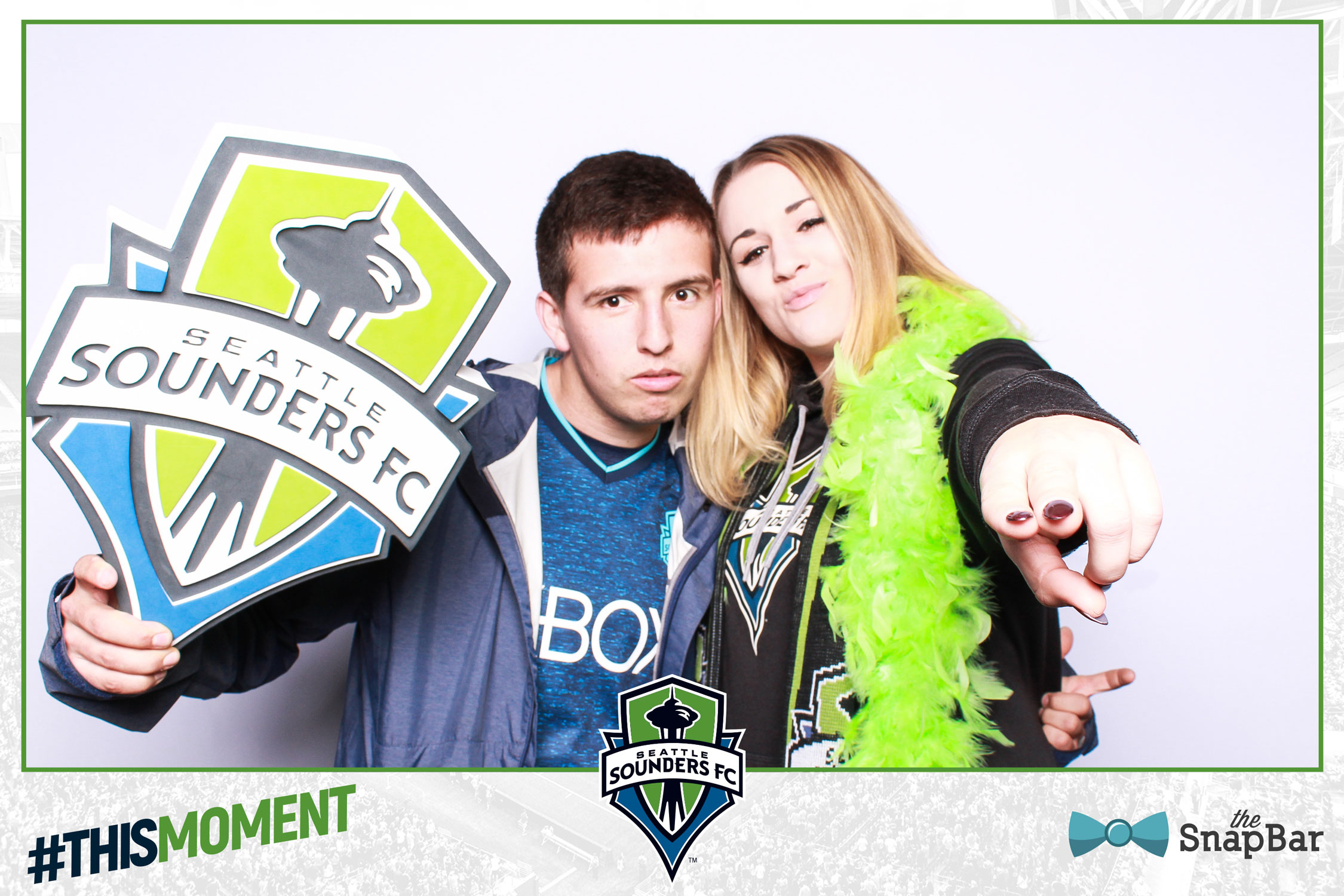 Sounders Soccer Photo Booth