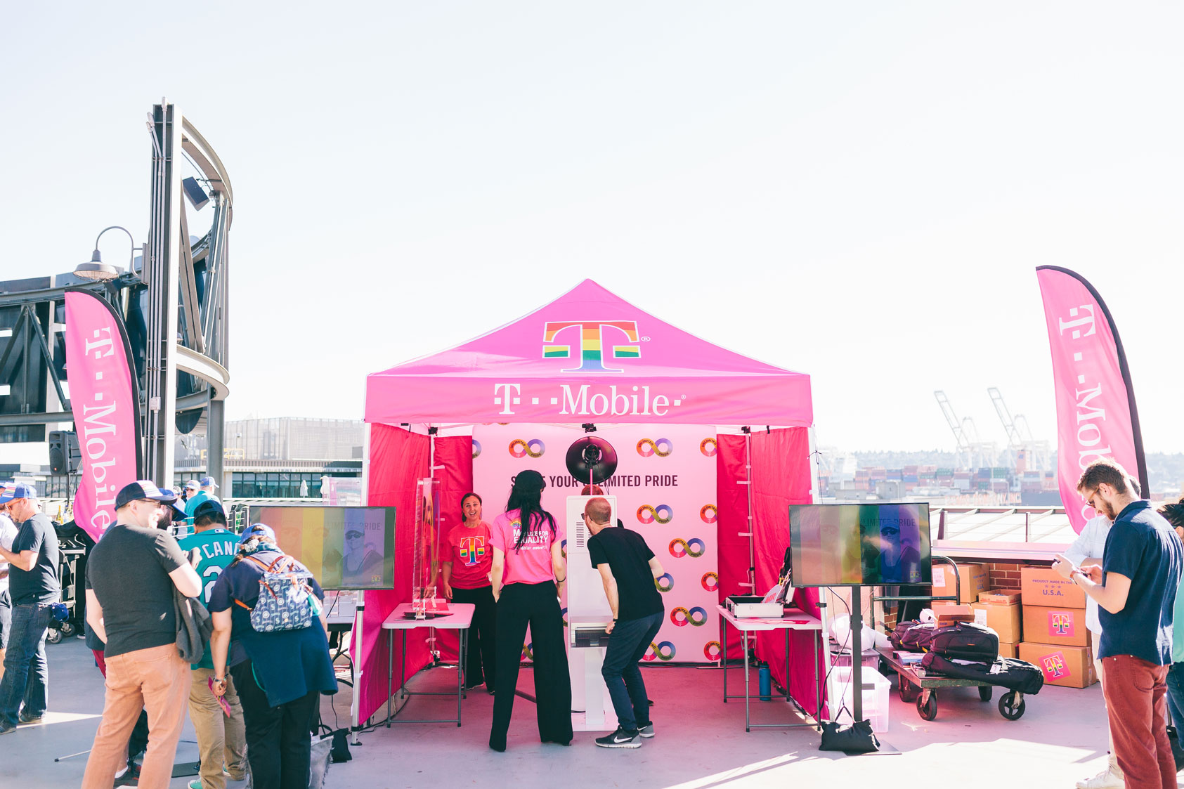T-Mobile Pride Photo Booth