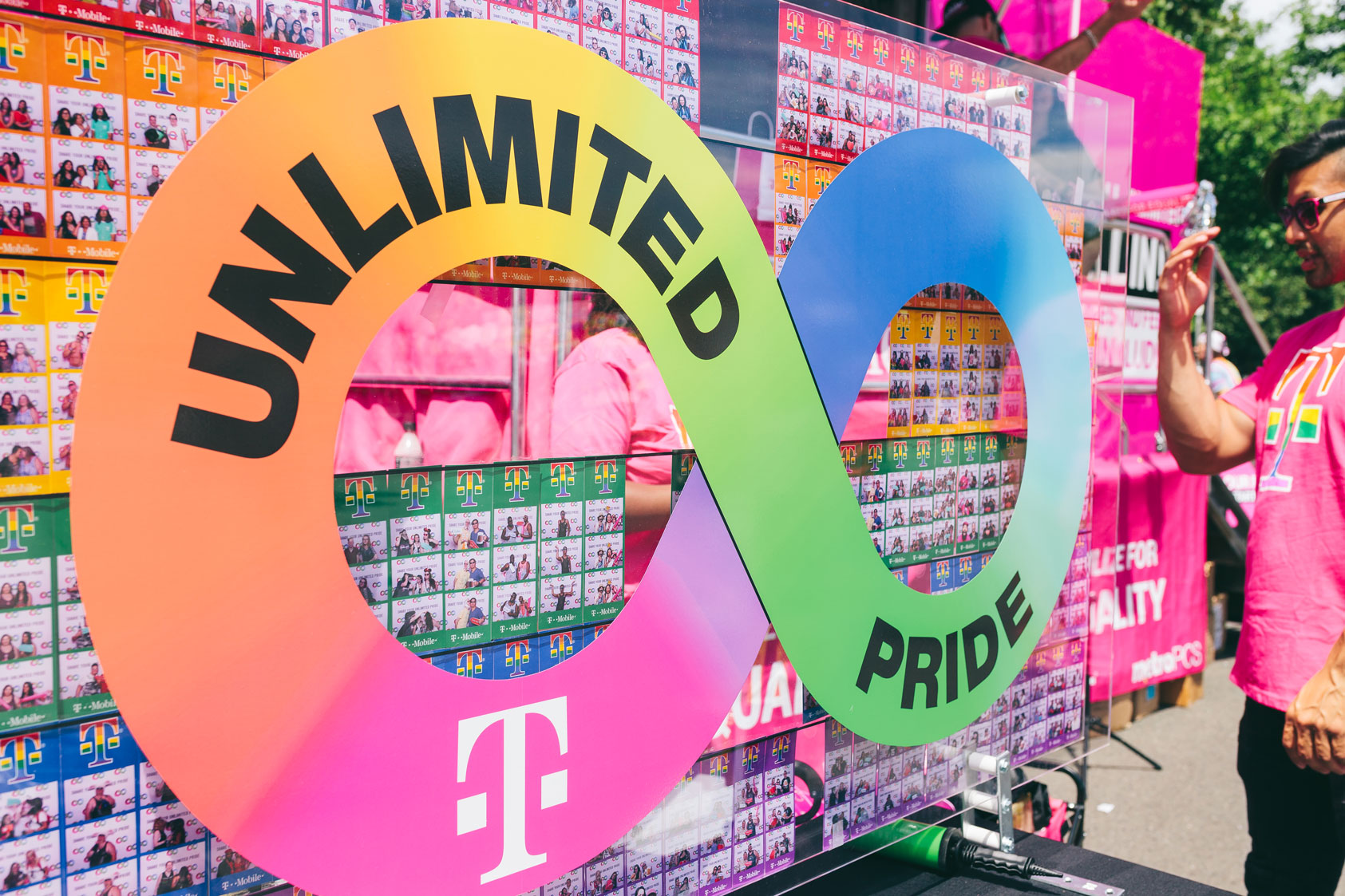 Unlimited Pride photo experience