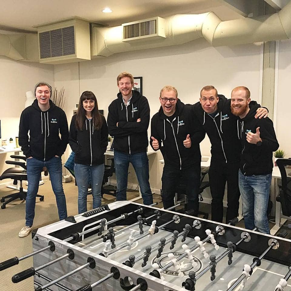 The SnapBar Original Office Team