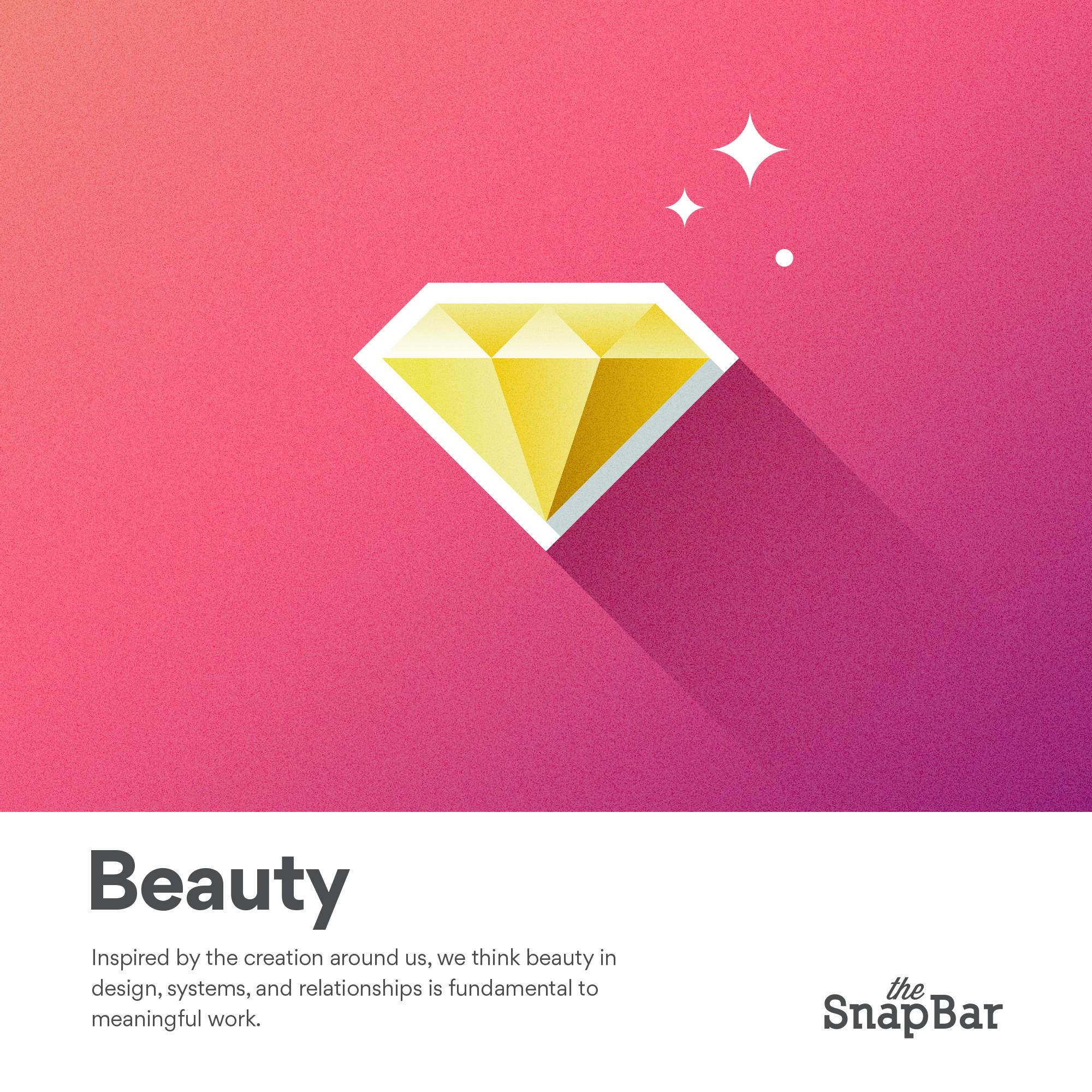 The SnapBar Core Values Beauty