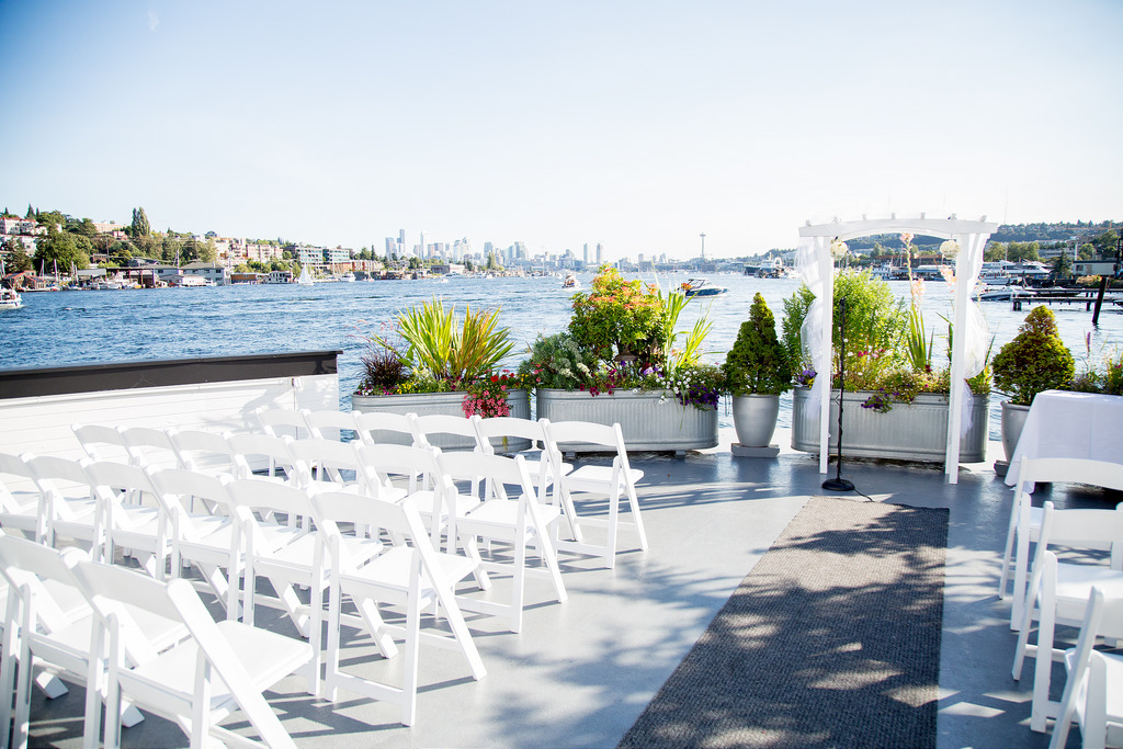 Outdoor Seattle wedding venue