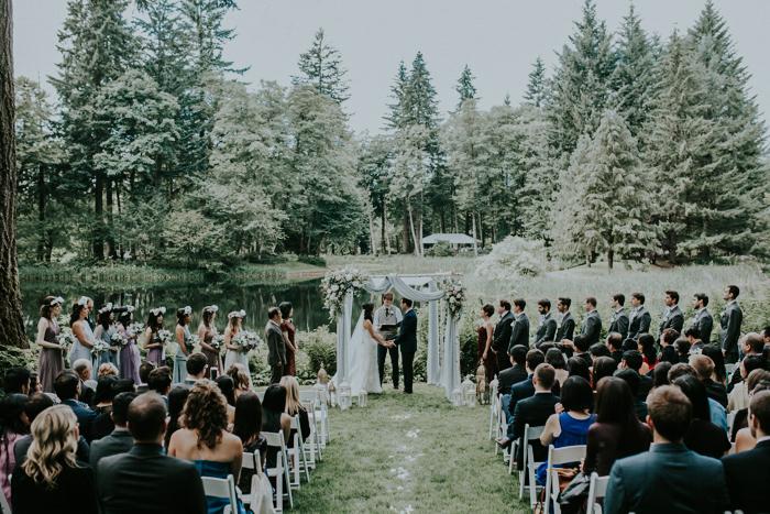 Bridal Veil Lakes Portland Wedding Venue