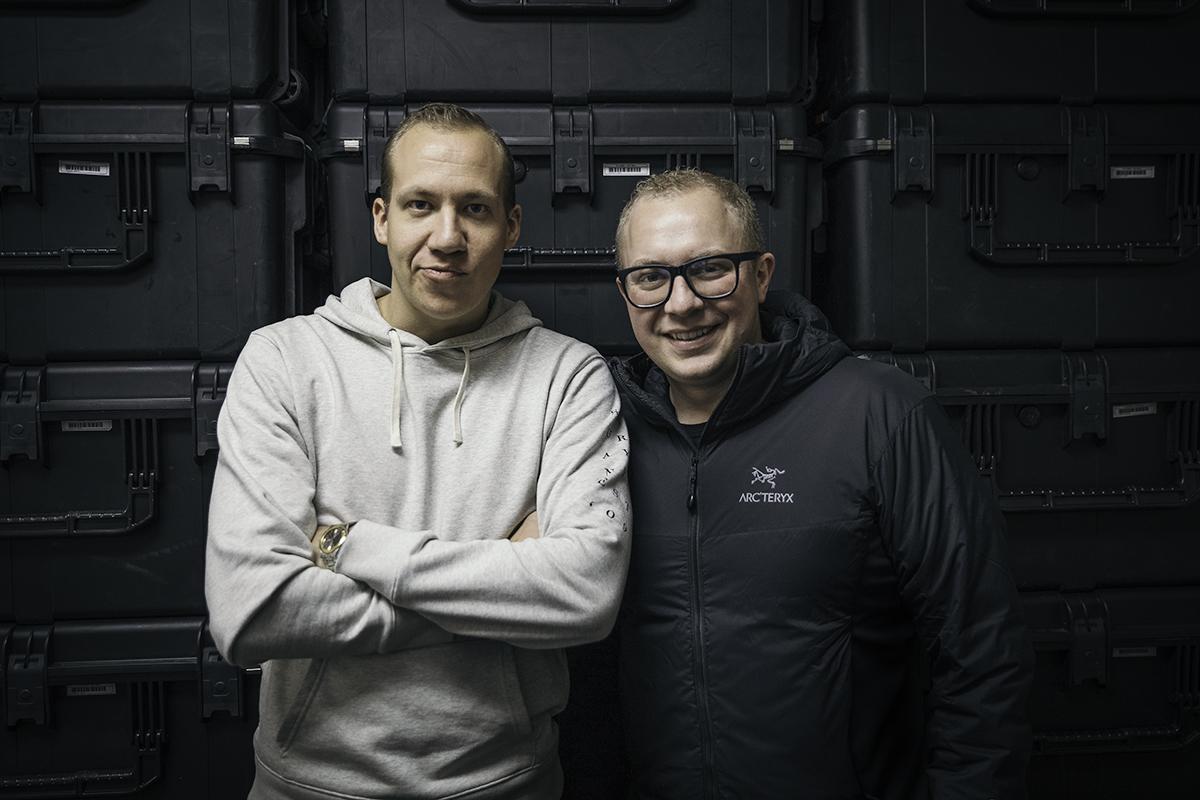 The SnapBar Founders, Sam and Joe