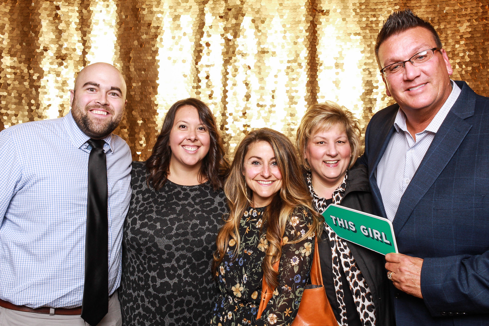 Wedding guest photo booth